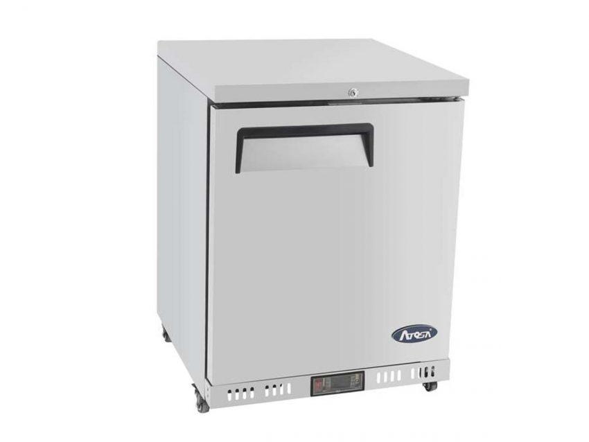 single door undercounter heavy duty refrigeration compact